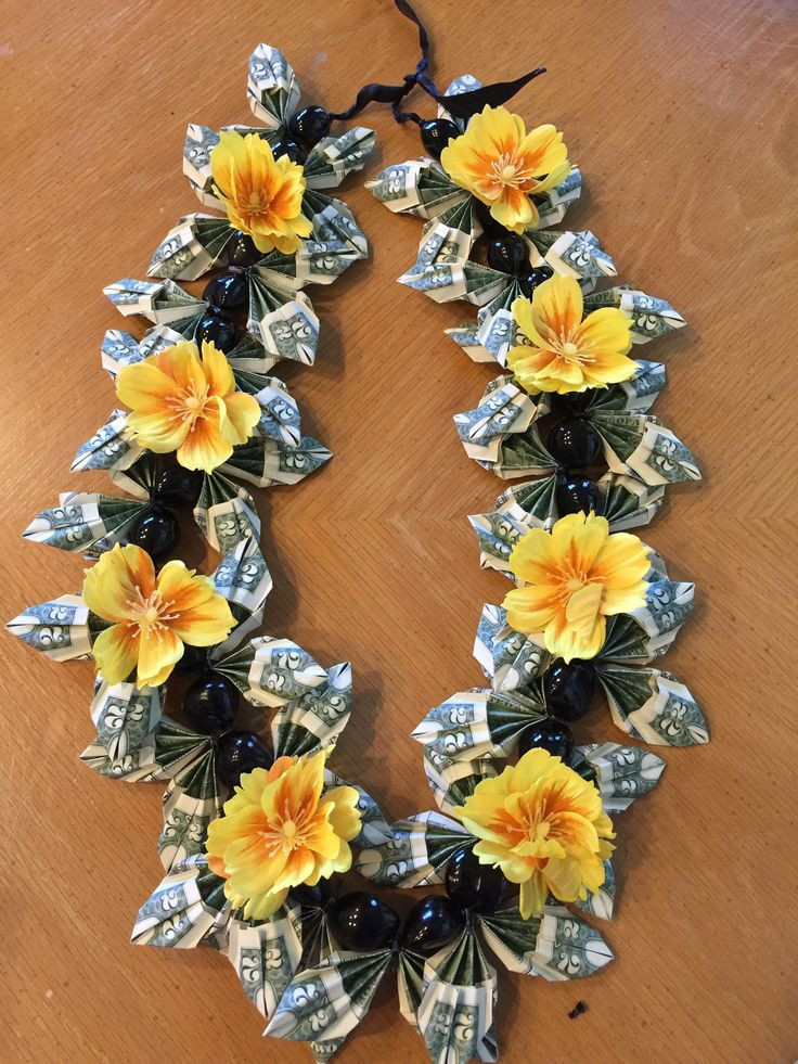 Best ideas about Graduation Leis DIY . Save or Pin Money Leis by Marilyn Money Leis by Marilyn Now.