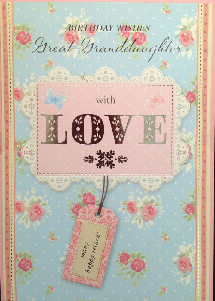 Best ideas about Granddaughter Birthday Wishes . Save or Pin Great Granddaughter Birthday Card Birthday Wishes Great Now.