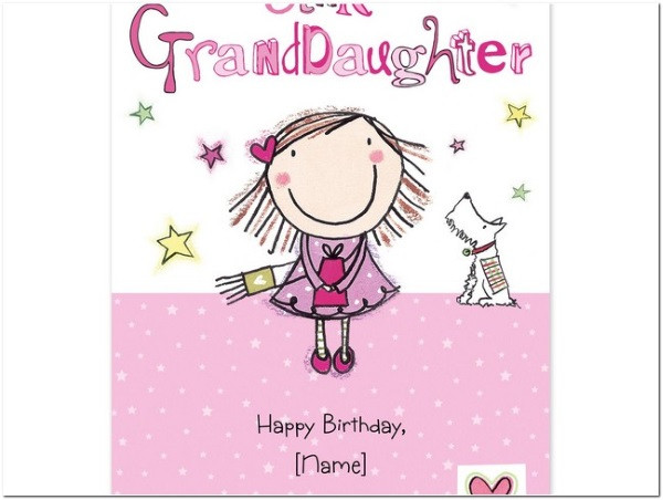 Best ideas about Granddaughter Birthday Wishes . Save or Pin The 60 Happy Birthday Granddaughter Wishes Now.