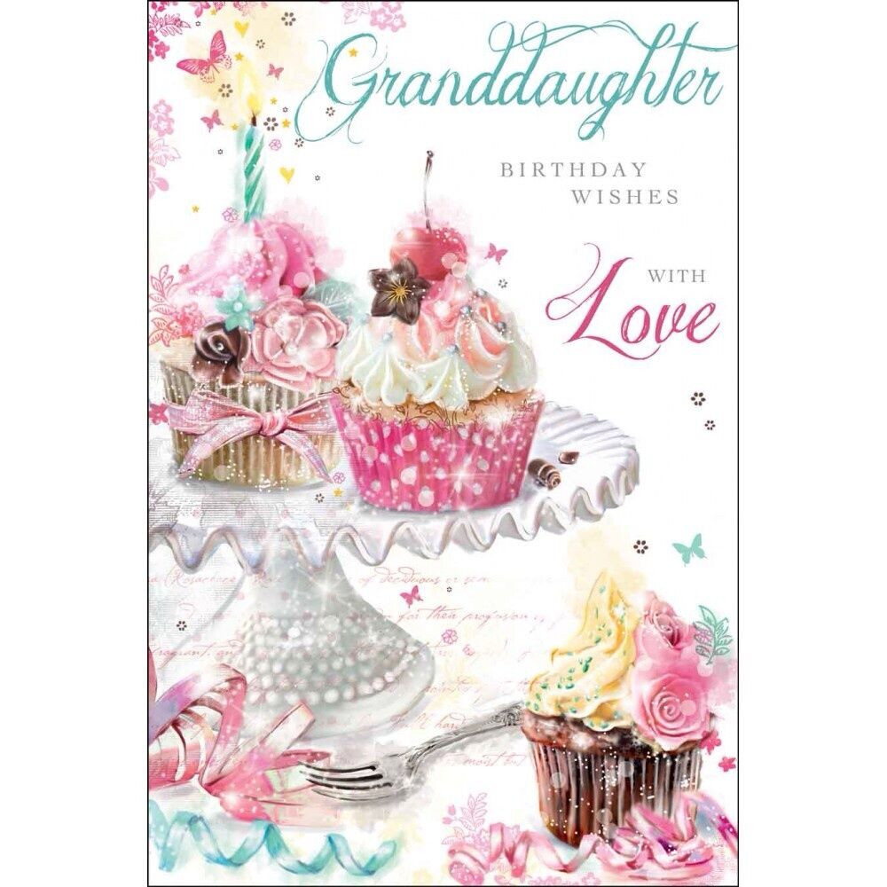 Best ideas about Granddaughter Birthday Wishes . Save or Pin Granddaughter Birthday Wishes Card Beautiful Luxury Card Now.