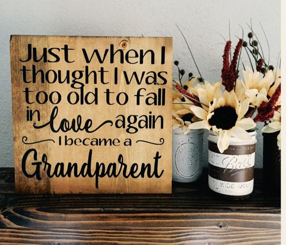 Best ideas about Grandparent Gift Ideas For New Baby . Save or Pin Best 25 New grandparent ts ideas on Pinterest Now.