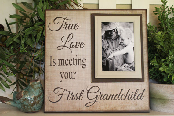 Best ideas about Grandparent Gift Ideas For New Baby . Save or Pin New Grandparent Unique Gift For Grandparents First Now.