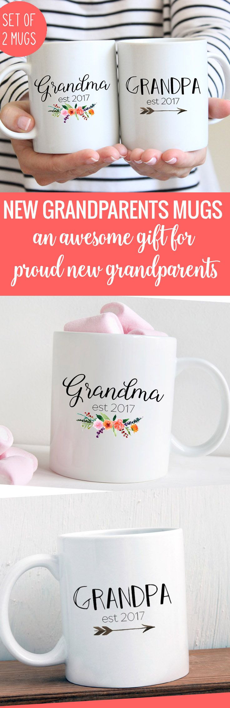 Best ideas about Grandparent Gift Ideas For New Baby . Save or Pin 25 best ideas about New grandparent ts on Pinterest Now.