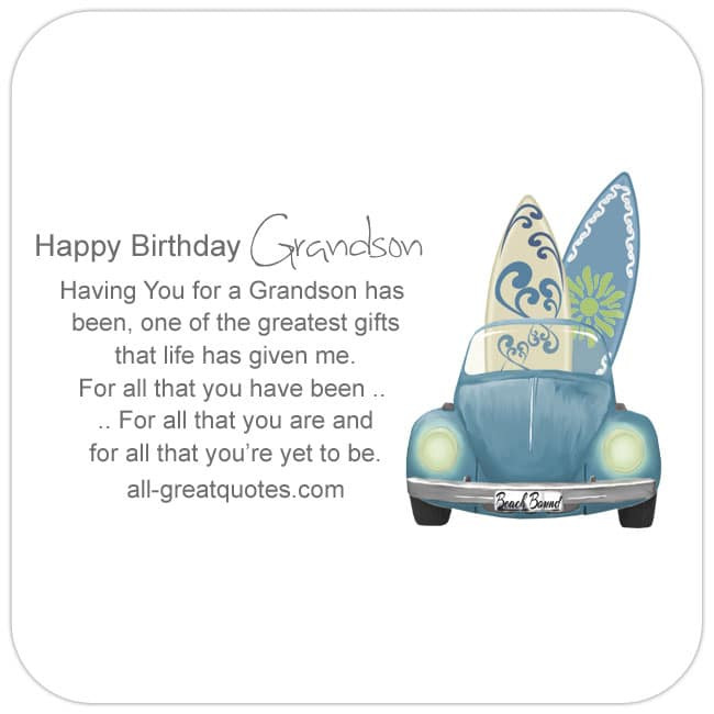 Best ideas about Grandson Birthday Quotes . Save or Pin Happy Birthday Grandson Now.