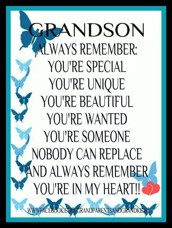 Best ideas about Grandson Birthday Quotes . Save or Pin 56 best I love my granddaughter images on Pinterest Now.