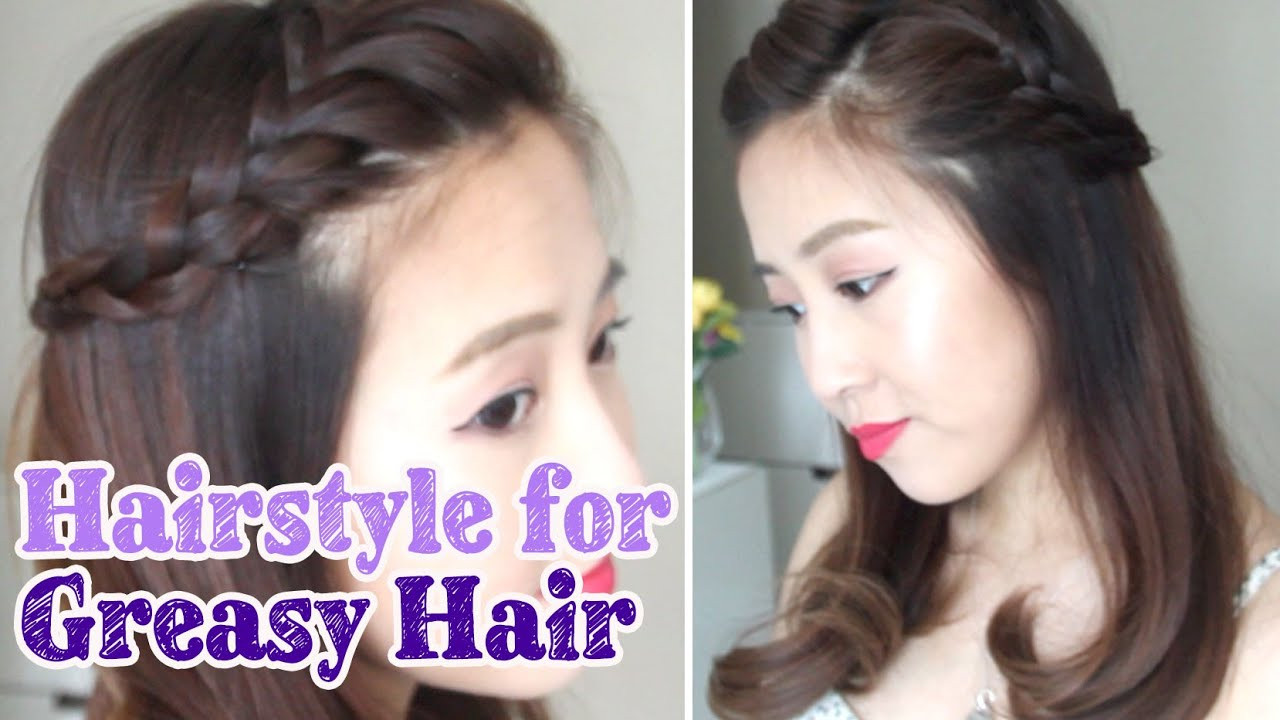 Best ideas about Greasy Hair Hairstyle . Save or Pin Hairstyle for Greasy Hair Days Now.