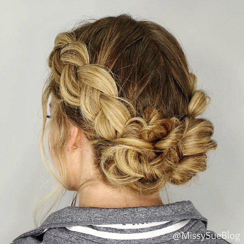 Best ideas about Greasy Hair Hairstyle . Save or Pin 20 Cute and Easy Hairstyles for Greasy Hair That Hide Oily Now.