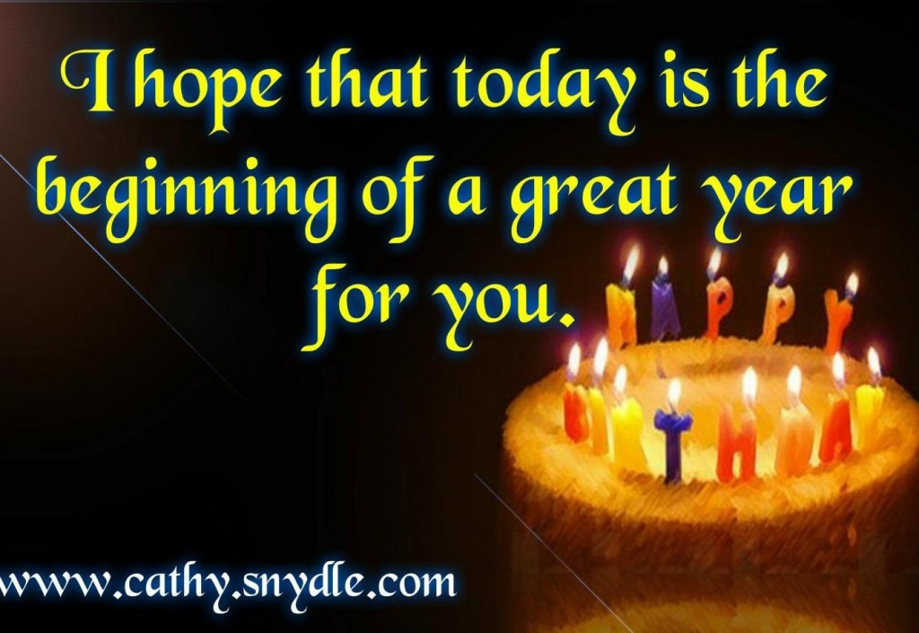 Best ideas about Great Birthday Wishes . Save or Pin Happy Birthday Wishes Quotes and Birthday Messages Cathy Now.