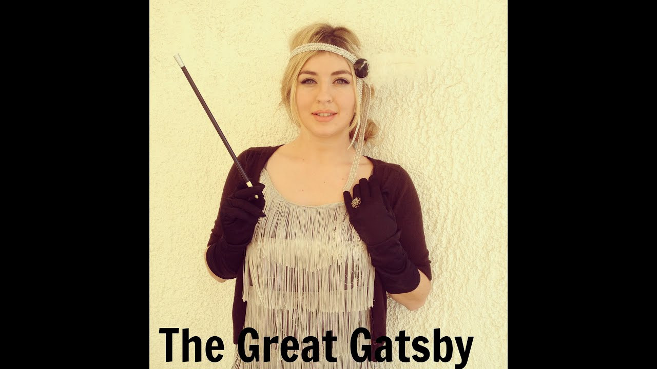 Best ideas about Great Gatsby Costumes DIY . Save or Pin Απόκριες DIY The Great Gatsby costume and hair tutorial Now.