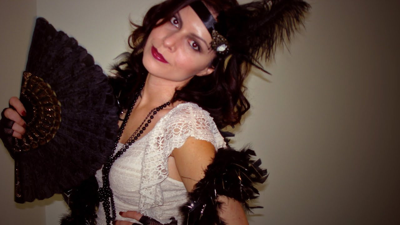 Best ideas about Great Gatsby Costumes DIY . Save or Pin Roaring 20 s The Great Gatsby Halloween Costume DIY Hair Now.
