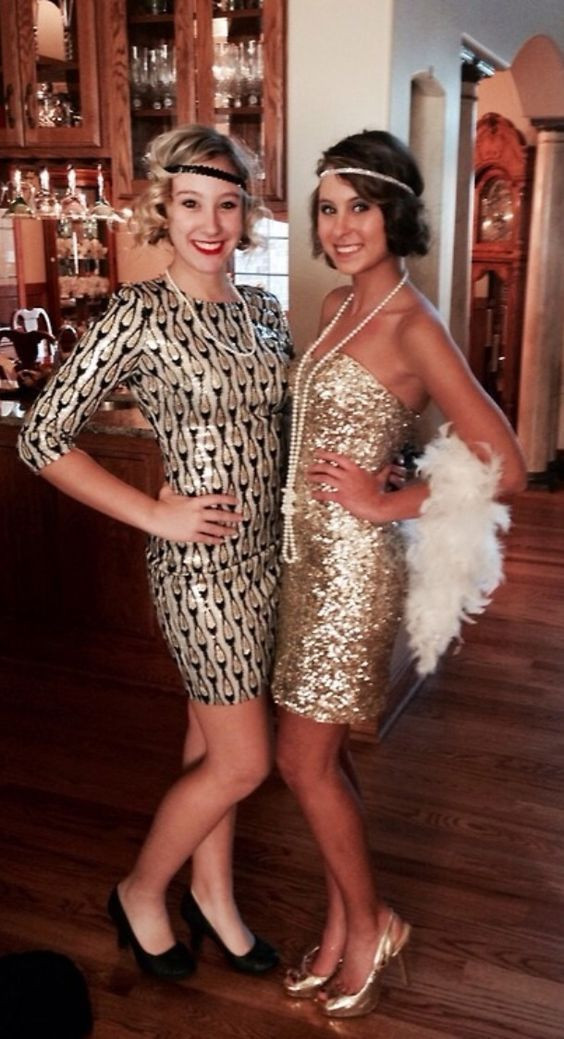 Best ideas about Great Gatsby Costumes DIY . Save or Pin DIY 20s Great Gatsby Charleston Flapper Costume Now.