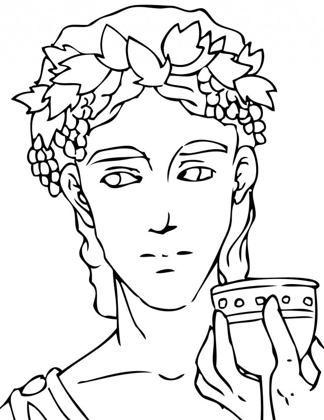 Best ideas about Greek Mythology Printable Coloring Pages Gods . Save or Pin Greek Gods Coloring Pages AZ Coloring Pages Now.