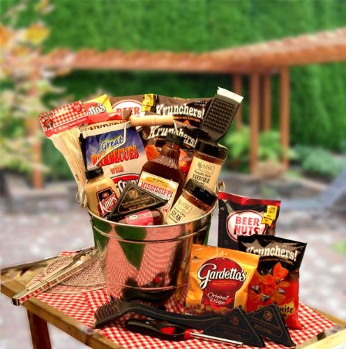Best ideas about Grilling Gift Basket Ideas . Save or Pin The Grill Master Barbecue Bucket FindGift Now.