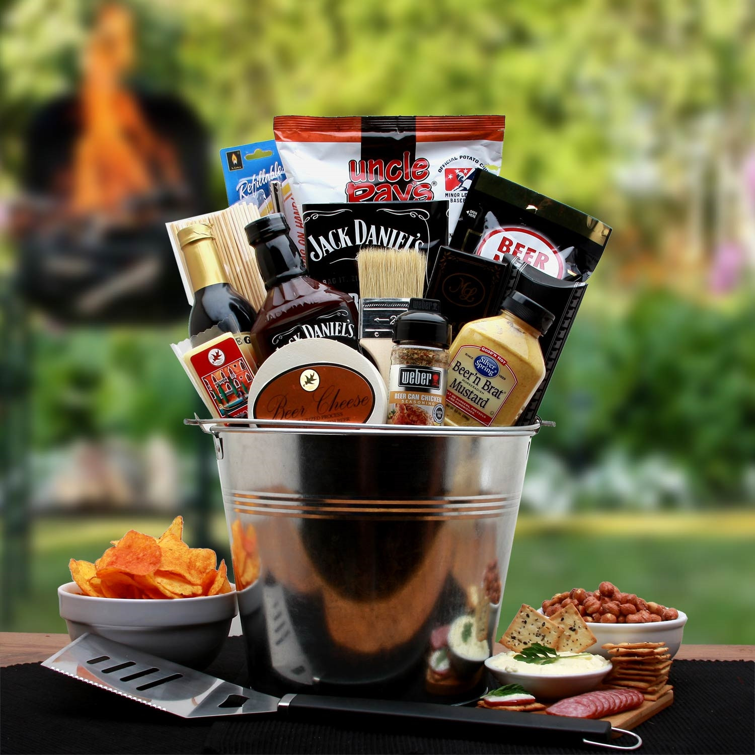 Best ideas about Grilling Gift Basket Ideas . Save or Pin BBQ Lovers Gift Pail Barbeque Gift Basket Now.
