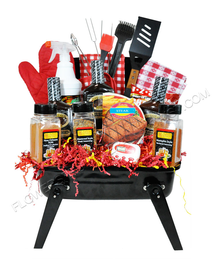 Best ideas about Grilling Gift Basket Ideas . Save or Pin Flowers From The Rainflorist Celebrates Father's Day with Now.