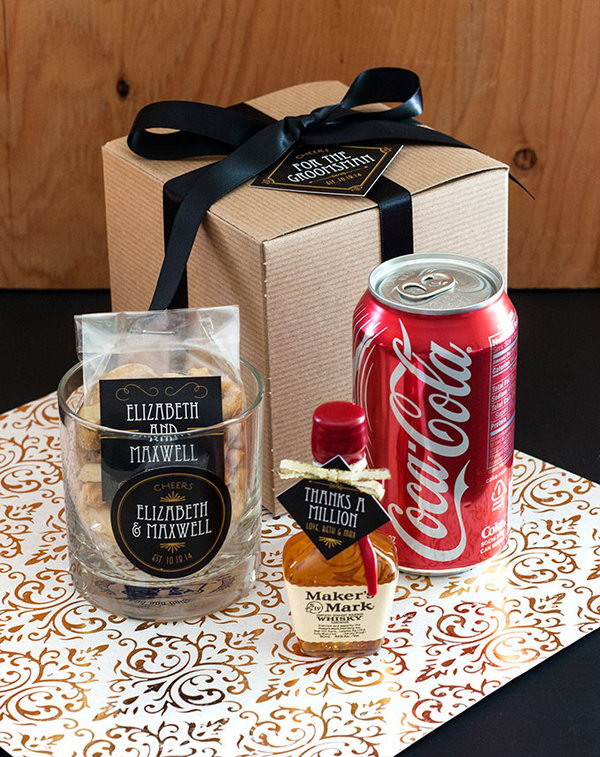 Best ideas about Groom Gift Ideas . Save or Pin Creative Groomsmen Gift Ideas Hative Now.