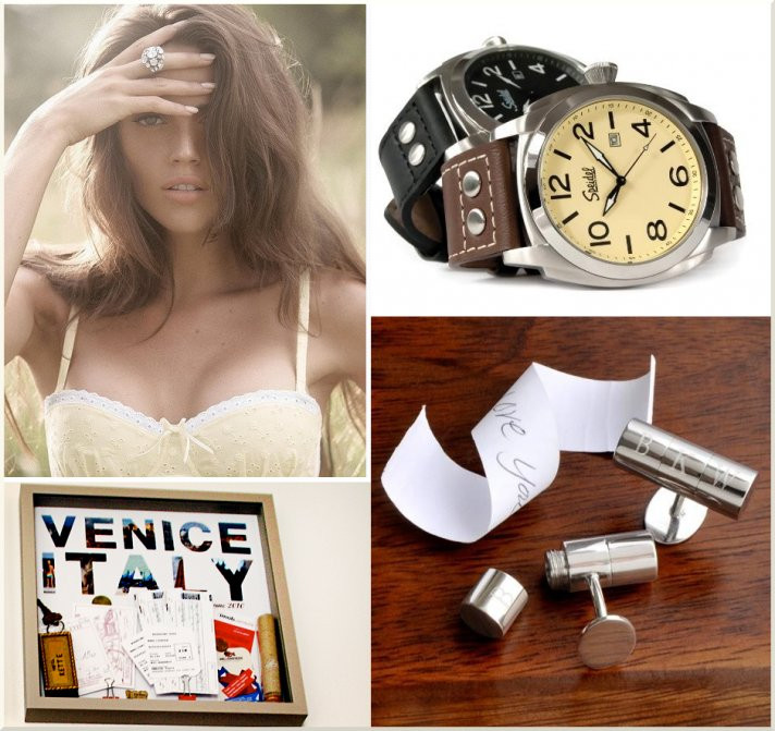 Best ideas about Groom To Bride Wedding Gift Ideas . Save or Pin Wonderful Wedding Gifts for the Bride and Groom to Now.