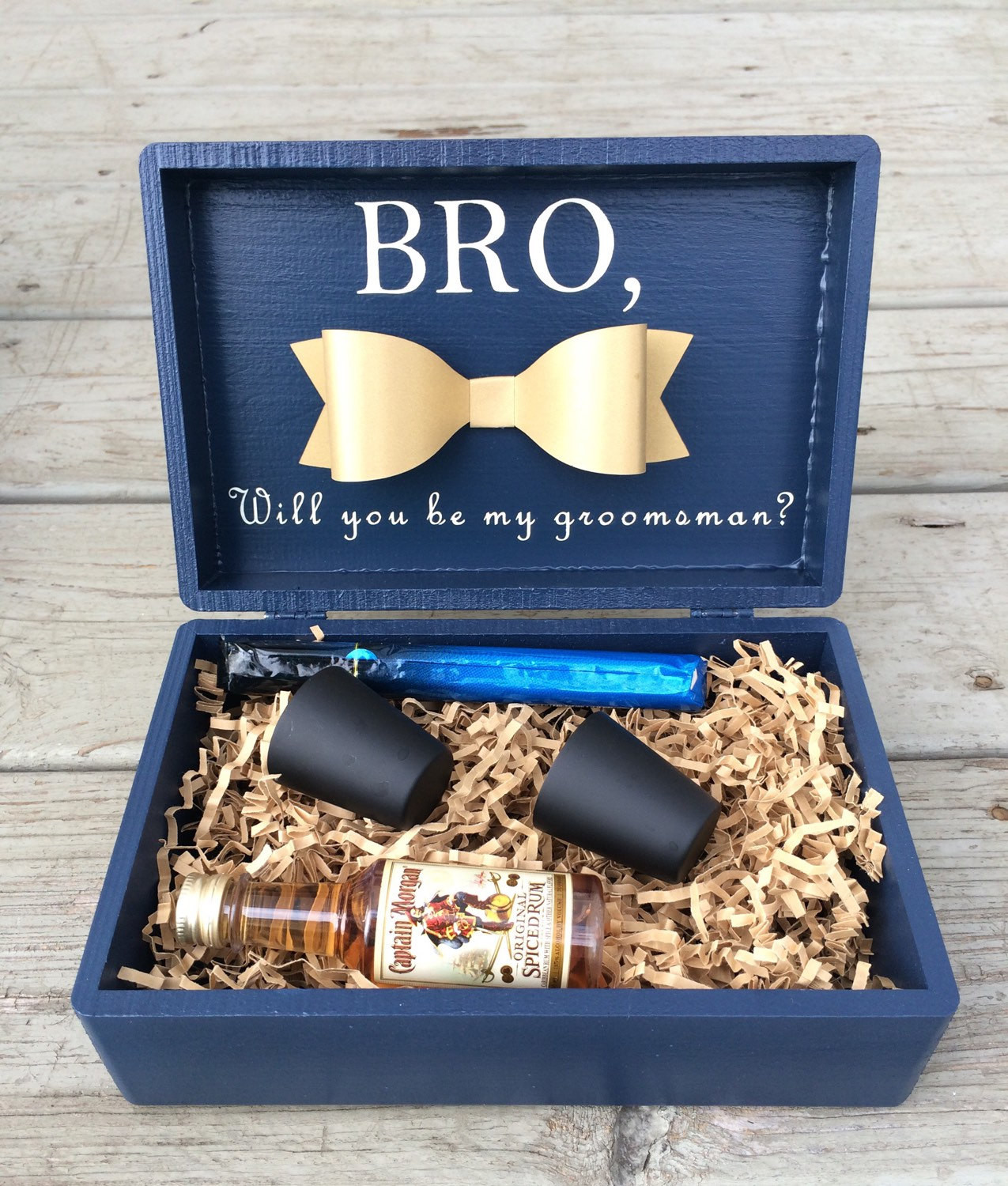 Best ideas about Grooms Gift Ideas . Save or Pin Best Man Groomsmen Gift BoxBest Man BoxGroomsman BoxBridal Now.