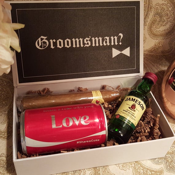 Best ideas about Grooms Gift Ideas . Save or Pin Groomsman Proposal Groomsmen t Groomsmen by thehousediary Now.