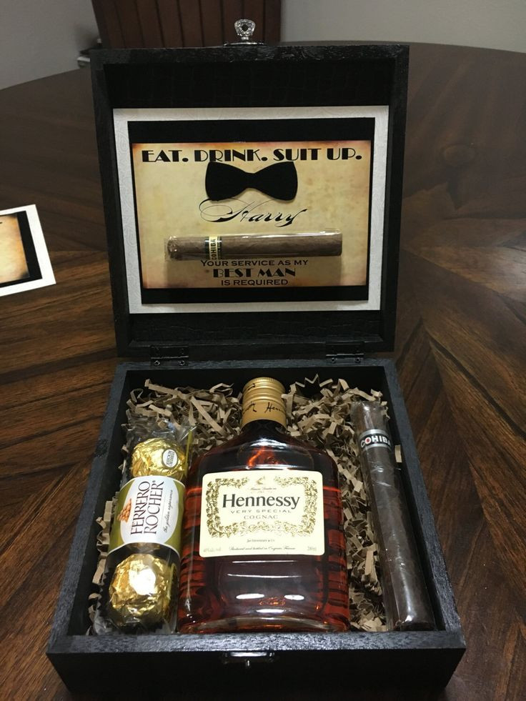 Best ideas about Grooms Gift Ideas . Save or Pin Will you be my groomsman Gift Box Now.