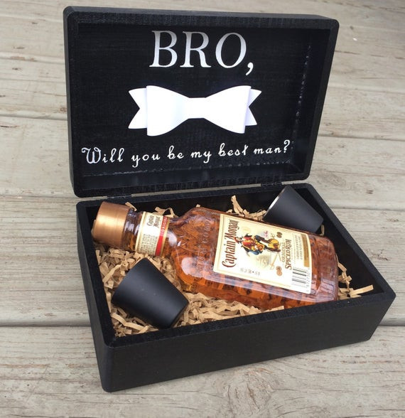 Best ideas about Groomsmen Gift Box Ideas . Save or Pin Best Man Groomsmen Gift BoxBest Man by LuxDesignsBoutique Now.