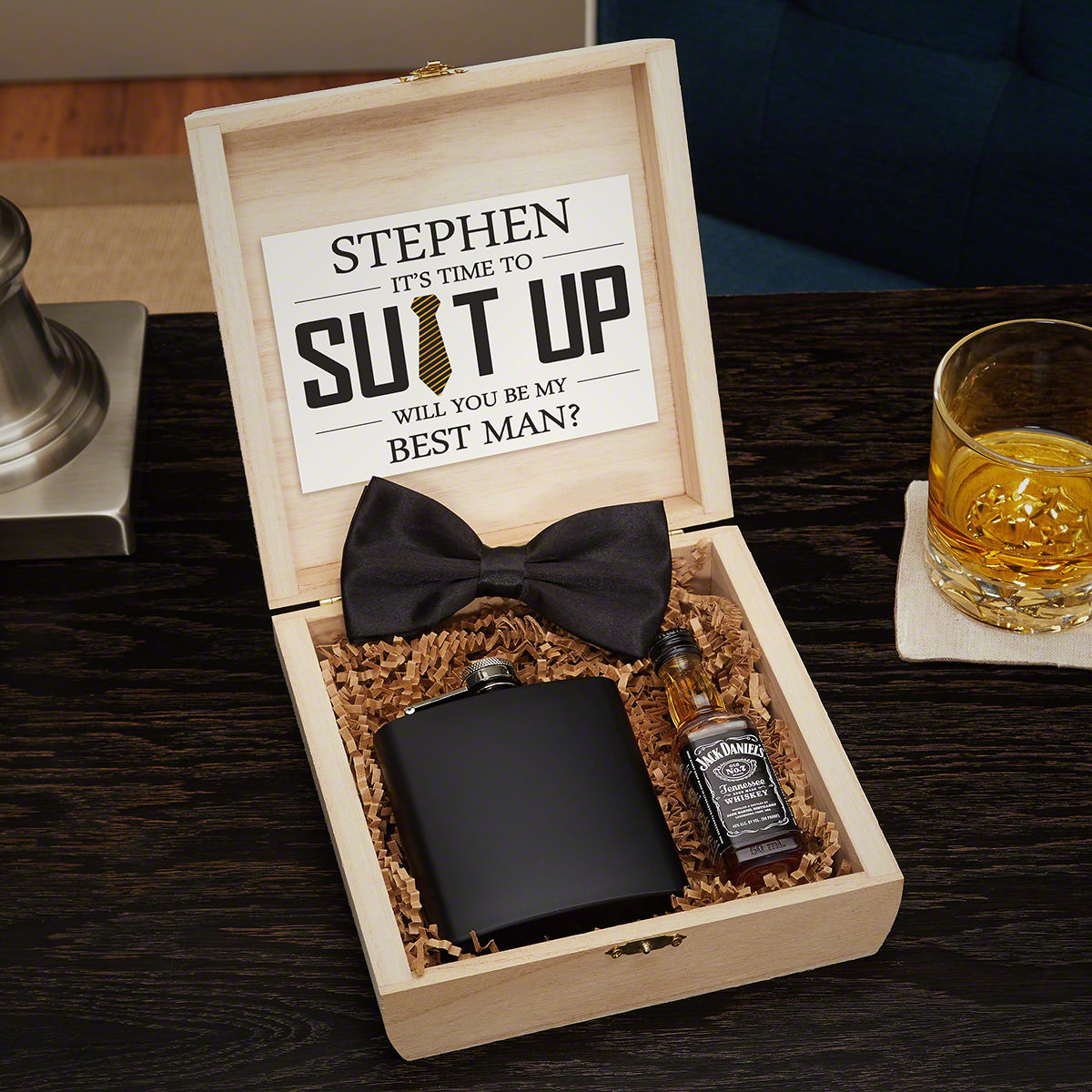 Best ideas about Groomsmen Wedding Gift Ideas . Save or Pin Personalized Groomsmen Gifts and Wooden Crate Set Now.