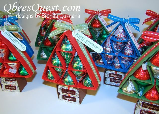 Best ideas about Group Gift Ideas For Coworkers . Save or Pin Hershey Kiss Christmas Tree DIY Group Gifts Now.