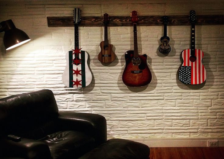 Best ideas about Guitar Wall Hanger DIY . Save or Pin 17 Best ideas about Guitar Wall Hanger on Pinterest Now.