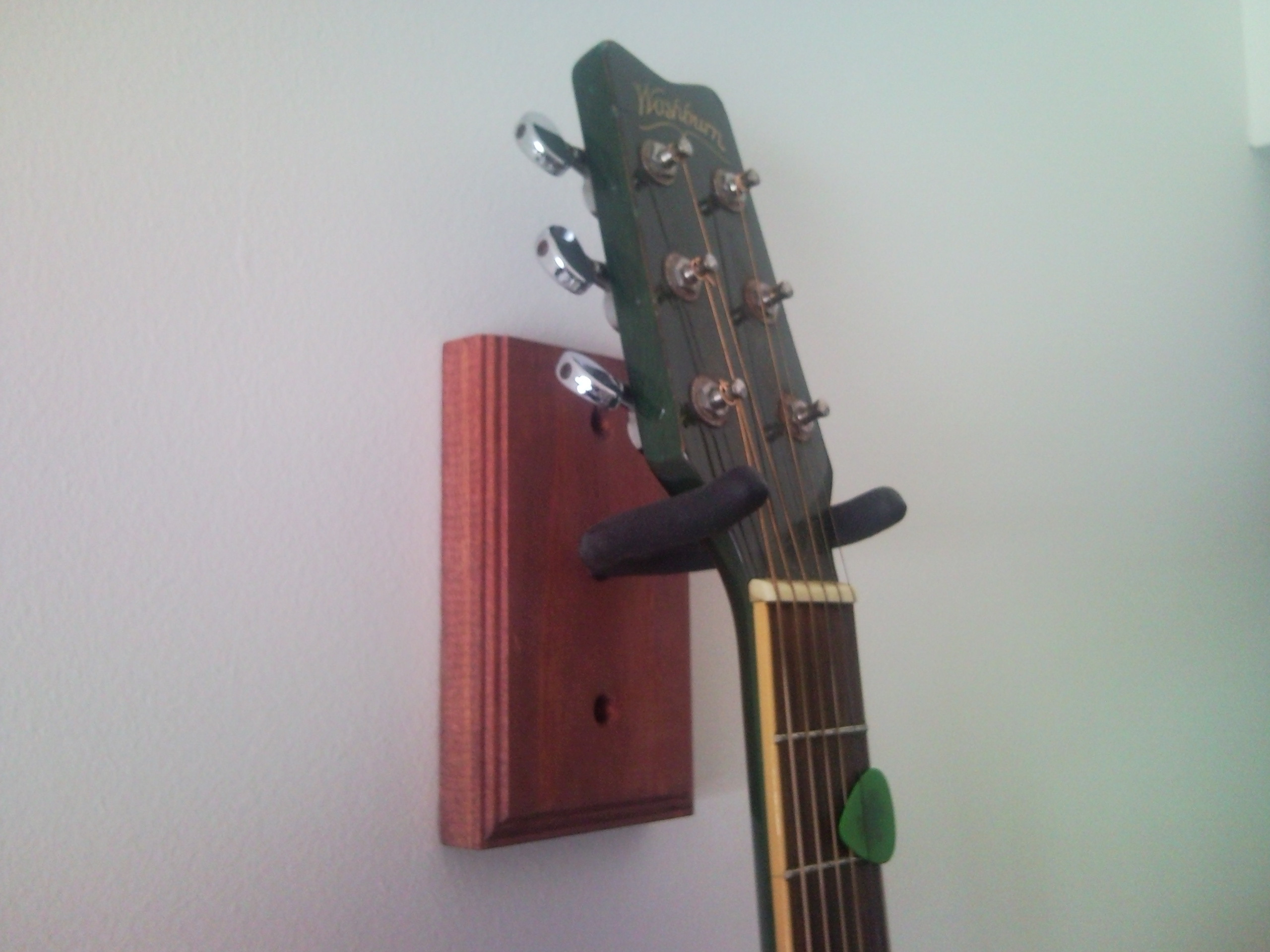Best ideas about Guitar Wall Hanger DIY . Save or Pin Make Your Own Guitar Wall Mount Now.