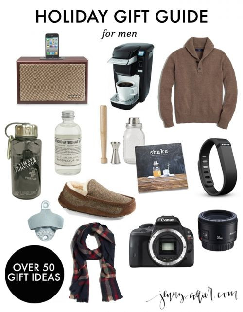 Best ideas about Guy Gift Ideas . Save or Pin Holiday Gift Guide for Men Now.
