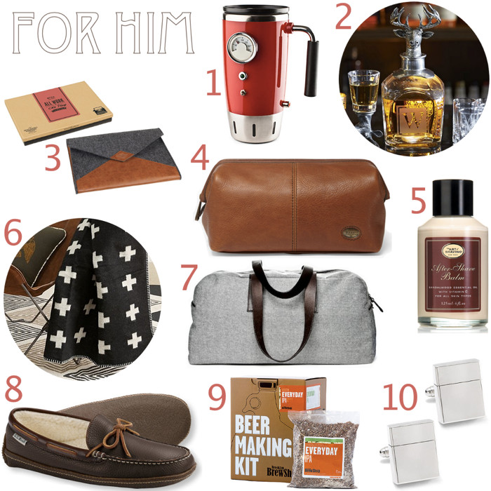 Best ideas about Guy Gift Ideas . Save or Pin Gift Ideas for Men Now.