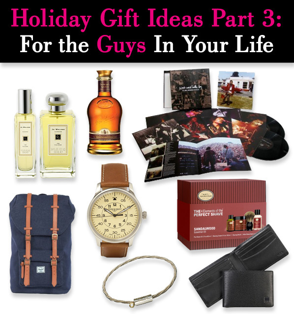 Best ideas about Guy Gift Ideas . Save or Pin Holiday Gift Ideas Part 3 For The Guys in Your Life Now.