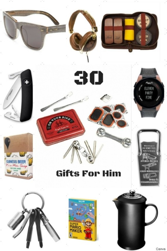 Best ideas about Guy Gift Ideas . Save or Pin 30 Holiday Gift Ideas For Him Now.