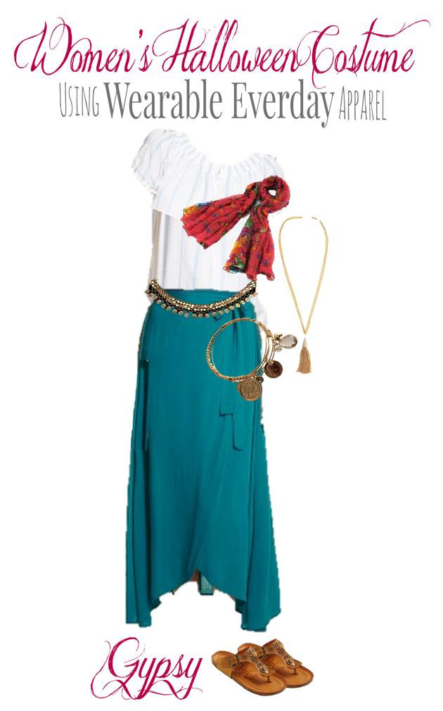 Best ideas about Gypsy DIY Costume . Save or Pin DIY Gypsy Costume Using Everyday Clothes You Can Wear Now.