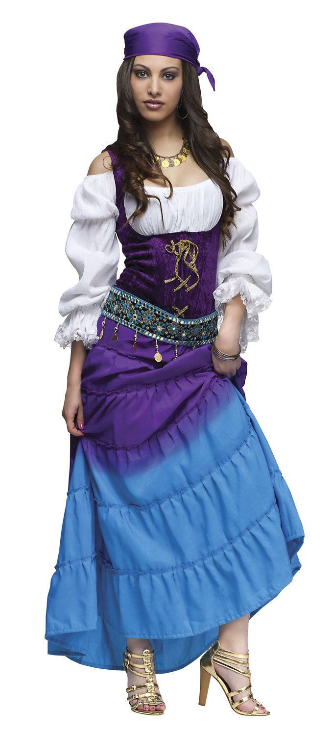 The Best Ideas For Gypsy Halloween Costume Diy Best
