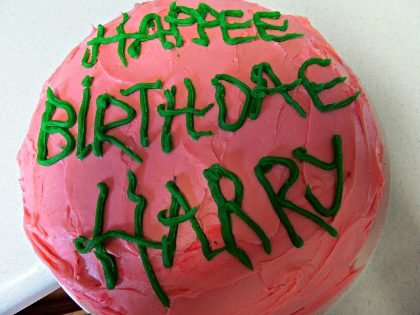 Best ideas about Hagrid Birthday Cake . Save or Pin Just American Honey August 2012 Now.