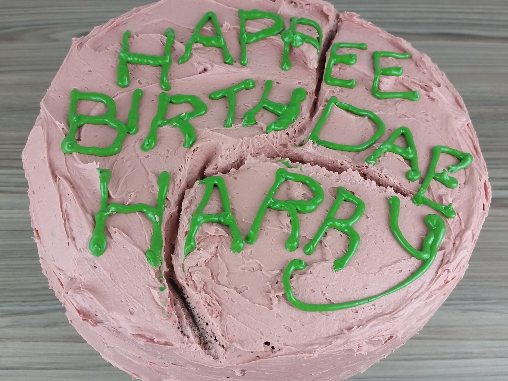 Best ideas about Hagrid Birthday Cake . Save or Pin Harry Potter's Birthday Cake from Hagrid – CarlyToffle Now.