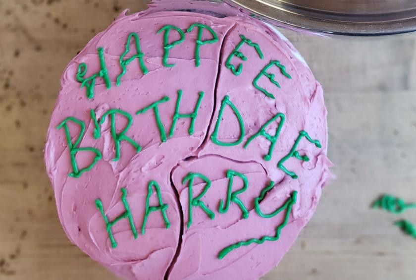 Best ideas about Hagrid Birthday Cake . Save or Pin How to Make the Birthday Cake Hagrid Gave to Harry Potter Now.