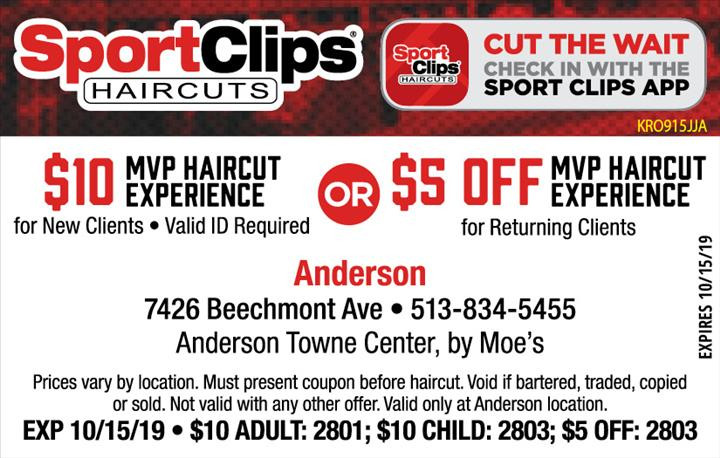 Best ideas about Hair Cut Coupons . Save or Pin Sport Clips Coupon by IndoorMedia Now.