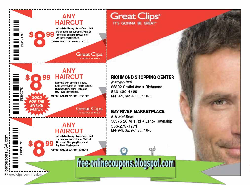 Best ideas about Hair Cut Coupons . Save or Pin Printable Coupons 2019 Great Clips Coupons Now.