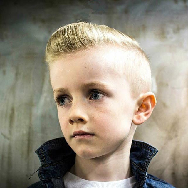 Best ideas about Hair Cut For Kids . Save or Pin 50 Super Cool Hairstyles for Little Boys Which Are Too Now.