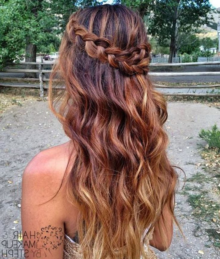 Best ideas about Hair Down Prom Hairstyles . Save or Pin 25 best ideas about Formal hairstyles down on Pinterest Now.