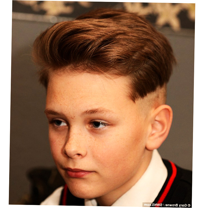Best ideas about Haircuts For 12 Year Olds Boys . Save or Pin 12 Year Old Boy Hairstyles BEST 2016 Ellecrafts Now.