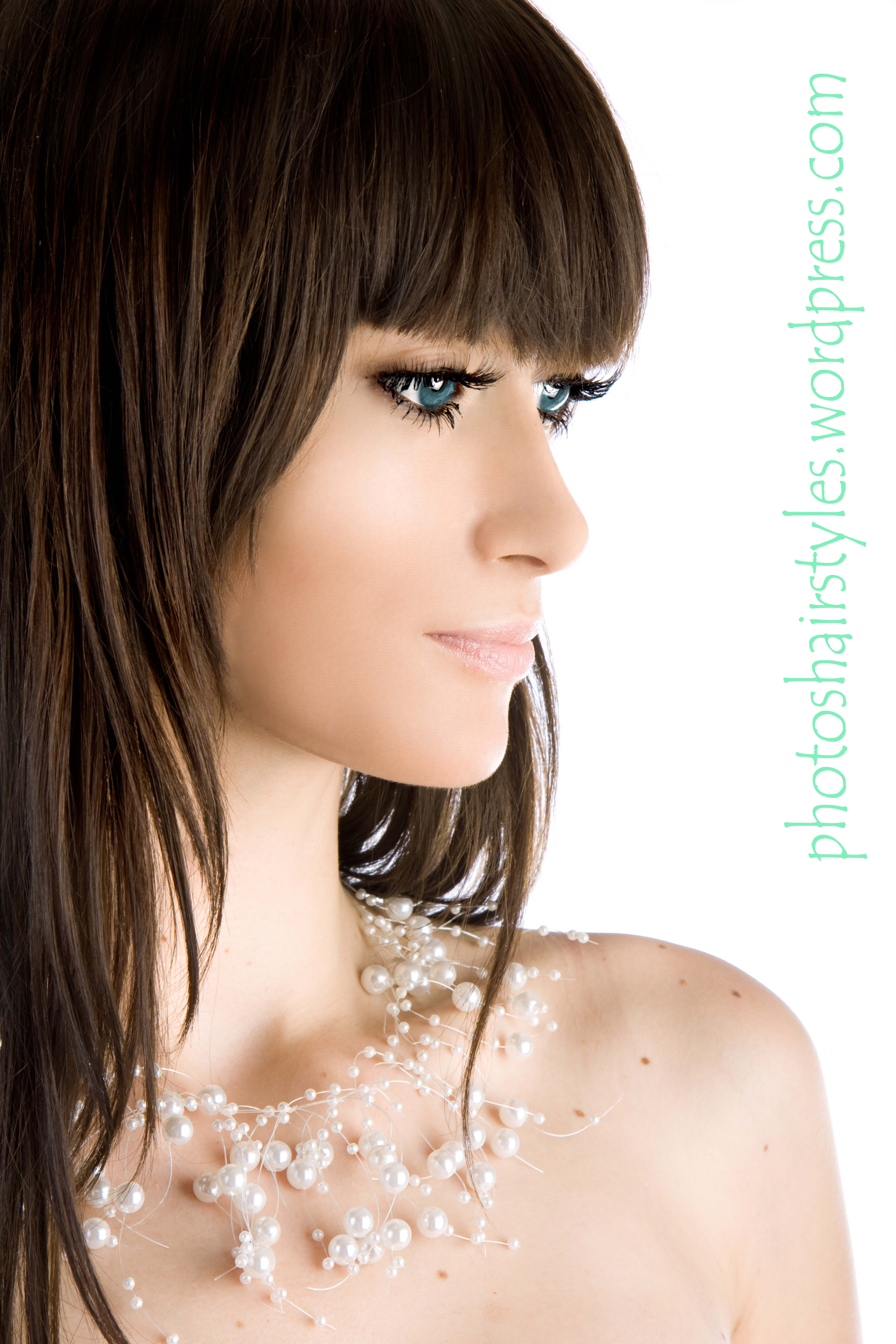 Best ideas about Haircuts For Females . Save or Pin Long Bang Hairstyle Trends Women Now.