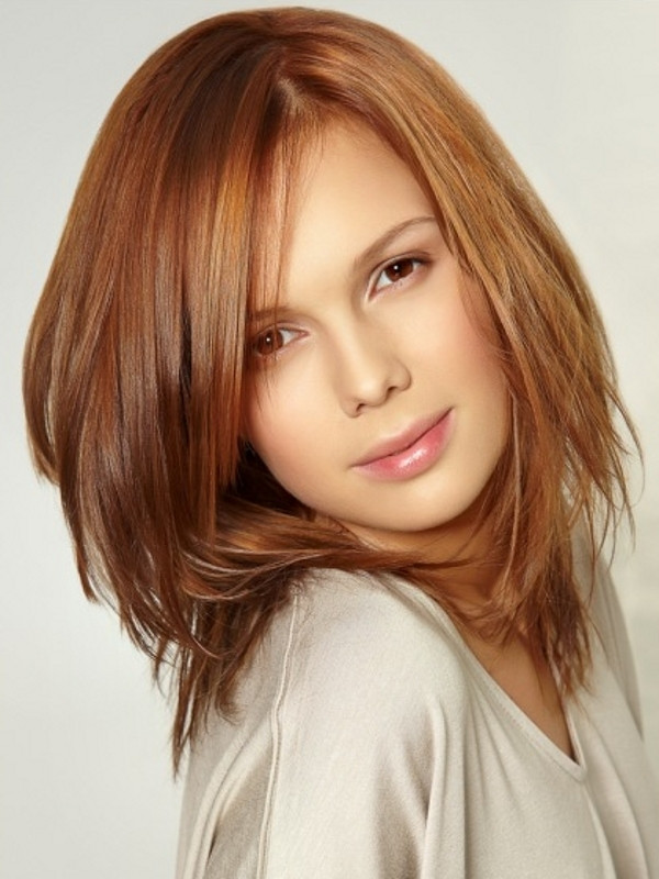 Best ideas about Haircuts For Girls With Medium Hair . Save or Pin Face Slimming Medium Haircut Ideas Now.
