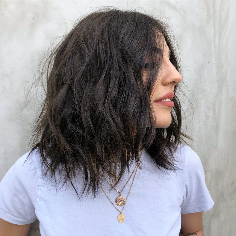 Best ideas about Haircuts For Girls With Medium Hair . Save or Pin 52 Chic Medium Shag Haircuts for 2018 Now.