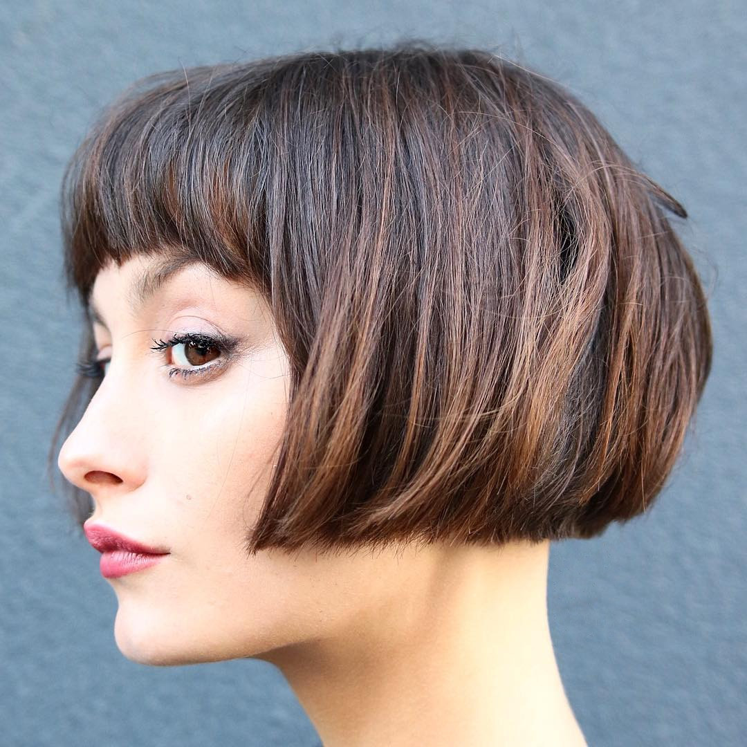 Best ideas about Haircuts For Girls With Thick Hair . Save or Pin 20 Best Short Hairstyles for Thick Hair 2019 – Short Now.