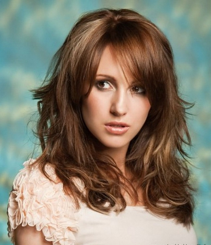 Best ideas about Haircuts For Girls With Thick Hair . Save or Pin 25 Most Beautiful Hairstyles with Bangs in 2018 Sensod Now.