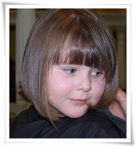 Best ideas about Haircuts For Little Kids . Save or Pin images kids medium length hair with bangs Now.