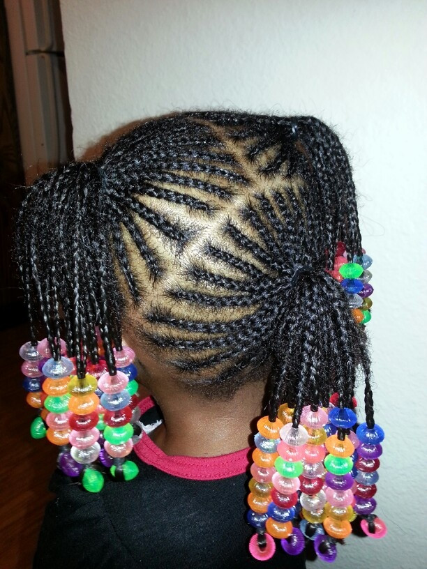 Best ideas about Hairstyle Braids For Little Girls . Save or Pin 1000 images about Braids Beads and Bows for Little Girls Now.